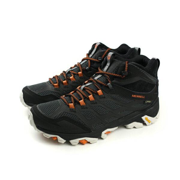HUMAN PEACE:MERRELLMOABFSTMIDGORE-TEX防水運動鞋健行黑色男鞋ML37065no858