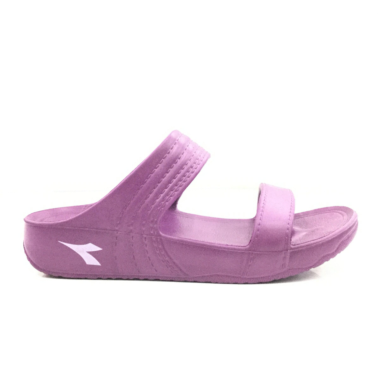 ※555鞋※Diadora 紫色 海灘拖 防水 拖鞋 一體成形 彈力升級 休閒拖鞋 MIT製造