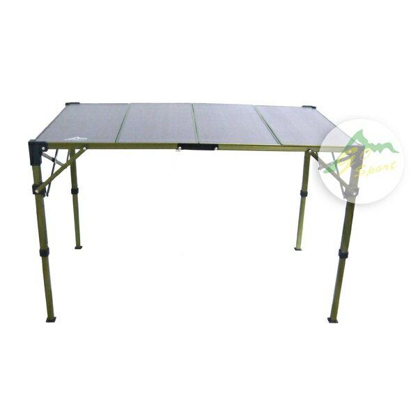 【露營趣】中和 GO SPORT 96023 兩片複合板折疊桌 摺疊桌 休閒桌 蛋捲桌 LOGOS LG73186505