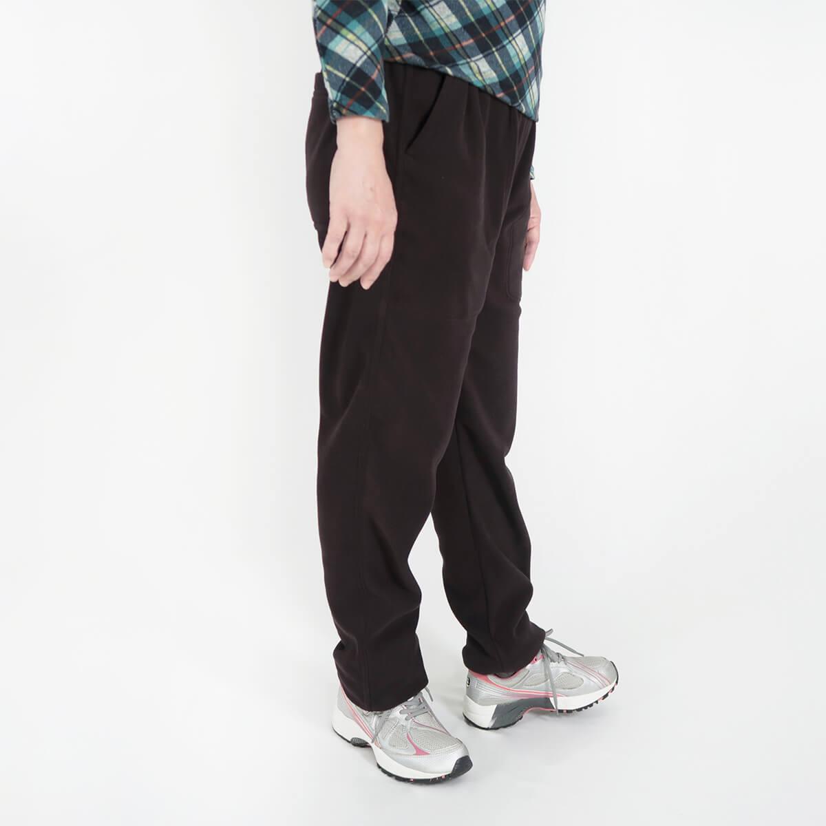 加大尺碼台灣製超細搖粒毛保暖褲 內裡刷毛保暖長褲 保暖棉褲長褲 機能纖維 全腰圍鬆緊帶 一件抵多件 MADE IN TAIWAN WARM FLEECE PANTS FLEECE LINED (020-2805-08)深藍色、(020-2805-19)深咖啡 腰圍M L XL 2L 3L(28~42英吋) 男女可穿 [實體店面保障] sun-e 1