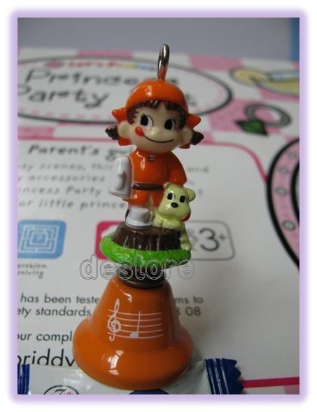 有樂町進口食品 日本Peko不二家娃娃鈴鐺 手機掛飾 4號 - 限時優惠好康折扣