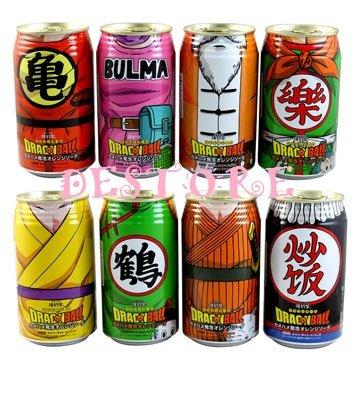 動漫限定商品~七龍珠碳酸飲料~收藏品(不可飲用)