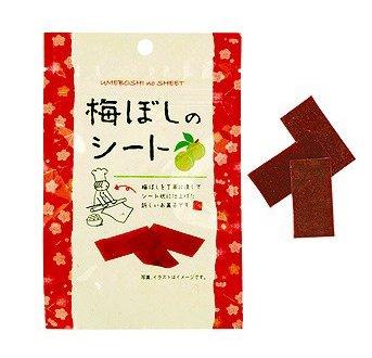 有樂町進口食品 日本梅薄片 板梅片 梅干片 梅乾片 紫蘇梅 青梅 4959436801087 - 限時優惠好康折扣
