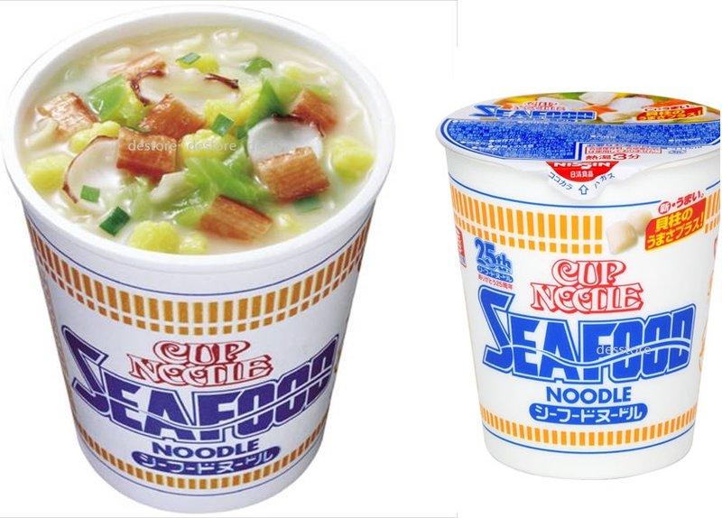 有樂町進口食品 日本進口 日清 海鮮口味中杯麵 (74g) J55 49698633 1