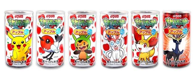 DYDO 皮卡丘蘋果果汁(190gx6罐) 隨機出~日本知名大廠-DYDO 神奇寶貝系列包裝(日期已過 收藏品) - 限時優惠好康折扣