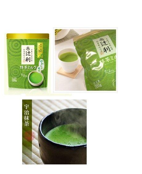 有樂町進口食品 日本 京都限定 辻利抹茶歐蕾超值組 6包*200g  4901305410197 - 限時優惠好康折扣