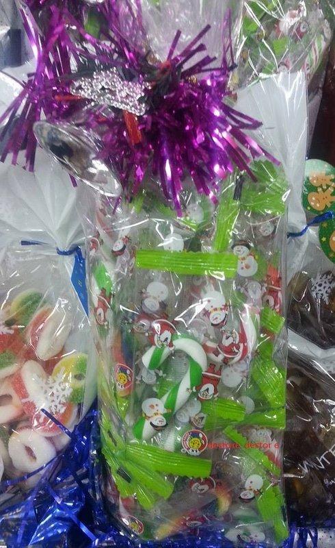 有樂町 食品  節慶限定 彩色拐杖糖 200G 約30隻  專屬包裝 婚禮小物 同樂會