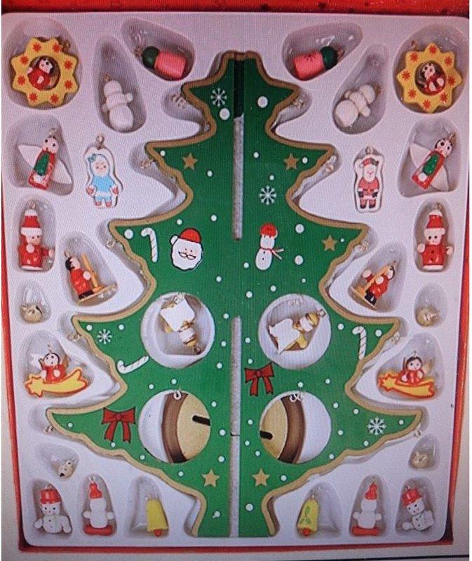 有樂町進口食品 聖誕節裝飾用品聖誕精美櫥窗擺件裝飾品聖誕桌飾擺件聖誕禮物(人工上色勿挑剔) 0