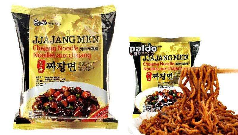 有樂町進口食品 韓國進口 八道御膳炸醬麵 單包 4843610059 1