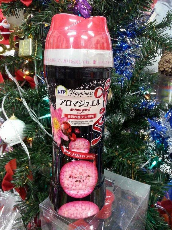 有樂町進口食品 日本 P&G 衣物芳香顆粒 紅寶石花卉 紅寶花漾香 - 限時優惠好康折扣