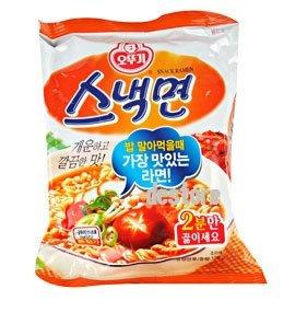 有樂町進口食品 韓國泡麵 不倒翁香菇風味拉麵 J19 8801045520728