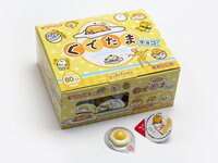 蛋黃哥週邊商品推薦有樂町進口食品 日本 丹生堂 奶油哥 雞蛋哥 巧克力80顆入 新發售 蛋黃哥 J260 4990327000301