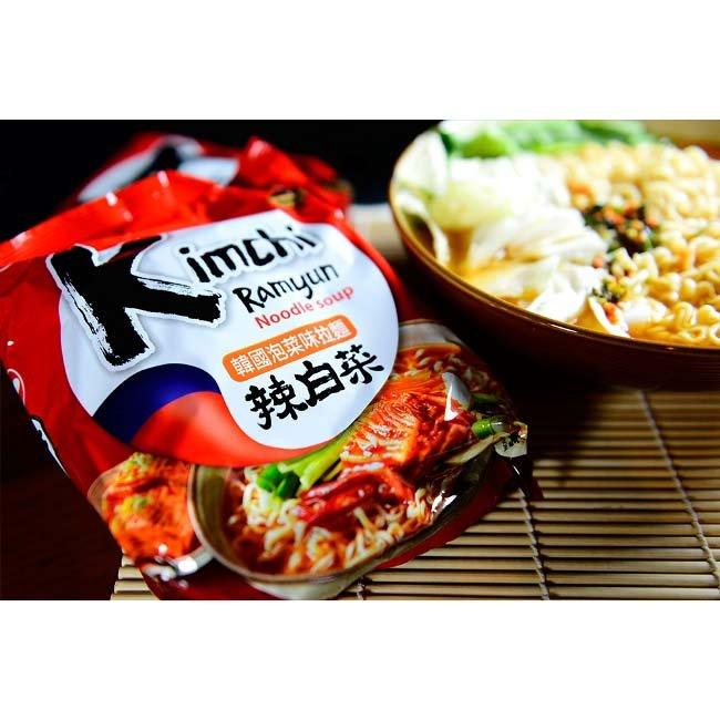 有樂町進口食品 韓國泡麵 農心韓國泡菜味拉麵 單包 韓國原裝泡麵 口味獨特,麵條Q而不爛 嚼勁十足,湯頭也超夠味 0