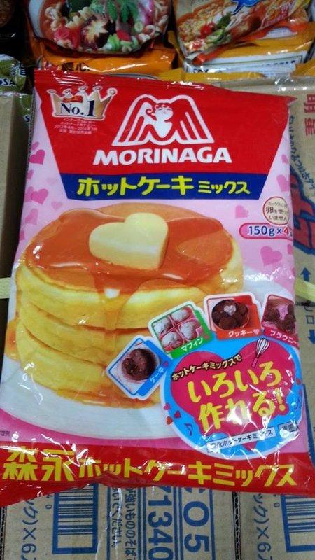 有樂町進口食品 日本 森永德用鬆餅粉600g 鬆餅粉