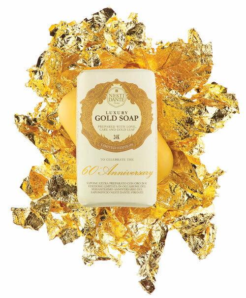 有樂町進口食品 Nesti Dante 義大利手工皂-60週年限量版黃金能量皂(250g) 1