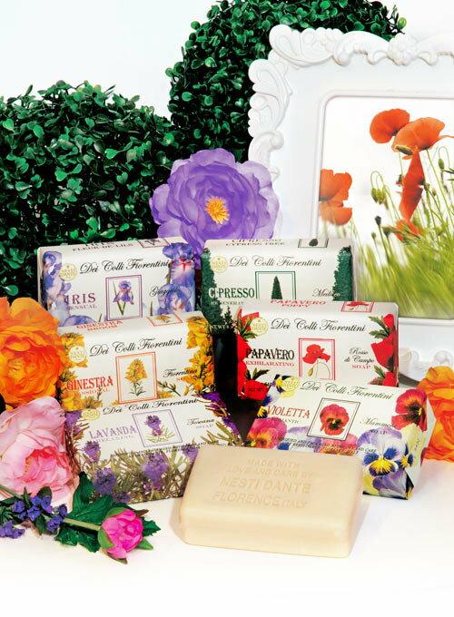 有樂町進口食品 Nesti Dante 義大利手工皂-天然花妍系列-鳶尾花(性感)(250g) 1