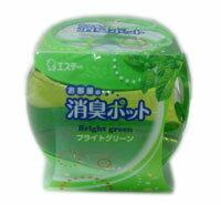 有樂町進口食品 日本製 雞仔牌 愛詩庭 新部屋果凍消臭壺 - 青草薄荷香 270g 單個售 日本芳香劑 除臭劑