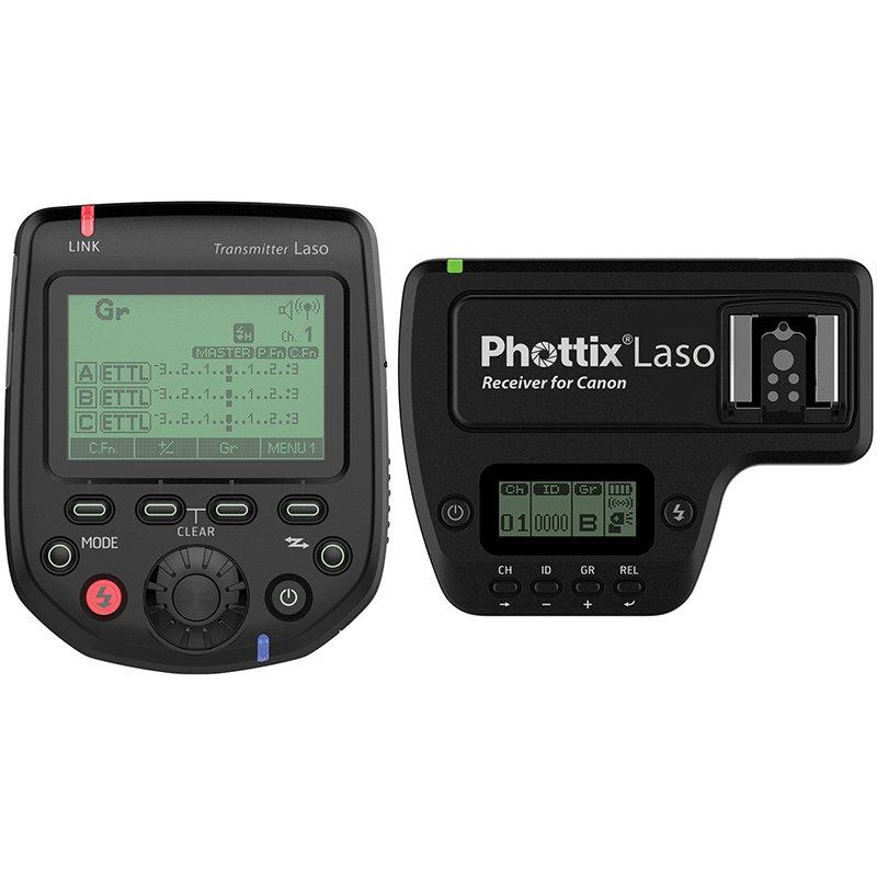 ◎相機專家◎ Phottix Laso TTL 閃燈引閃器1對1套組 for Canon 同ST-E3-RT 群光公司貨