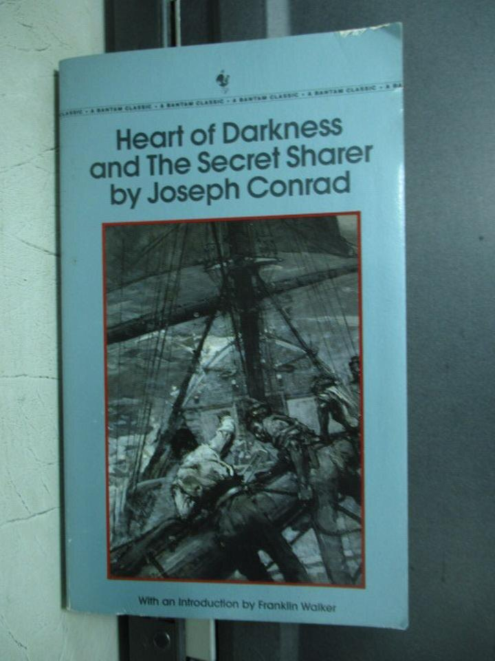 【書寶二手書T5/原文小說_KAS】Heart of darkness and the secret…