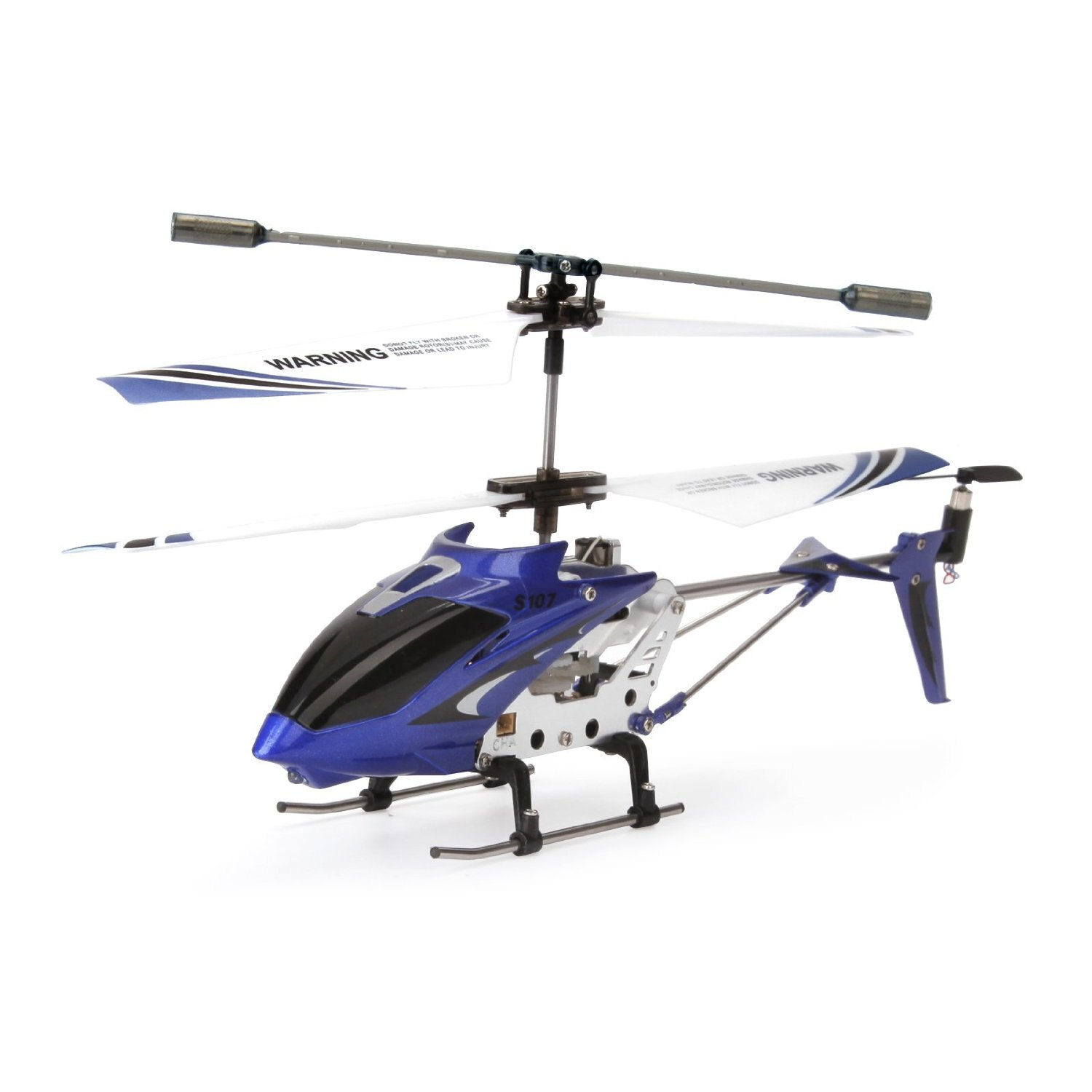 Syma S107G Mini 3.5 Channel Infrared RC Helicopter with Gyro Blue 1