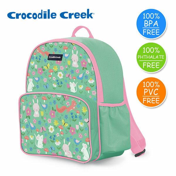 《美國CrocodileCreek》GoKids兒童造型背包-童話花園(新版)