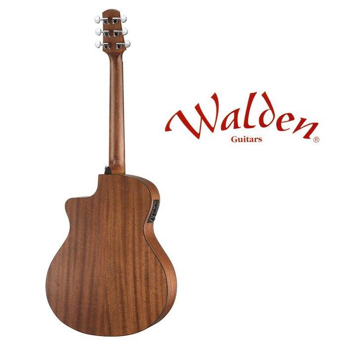 分期免運 Walden NATURA G570CE 西卡雲杉 面單板 GA 桶身 民謠吉他 電木吉他【唐尼樂器】