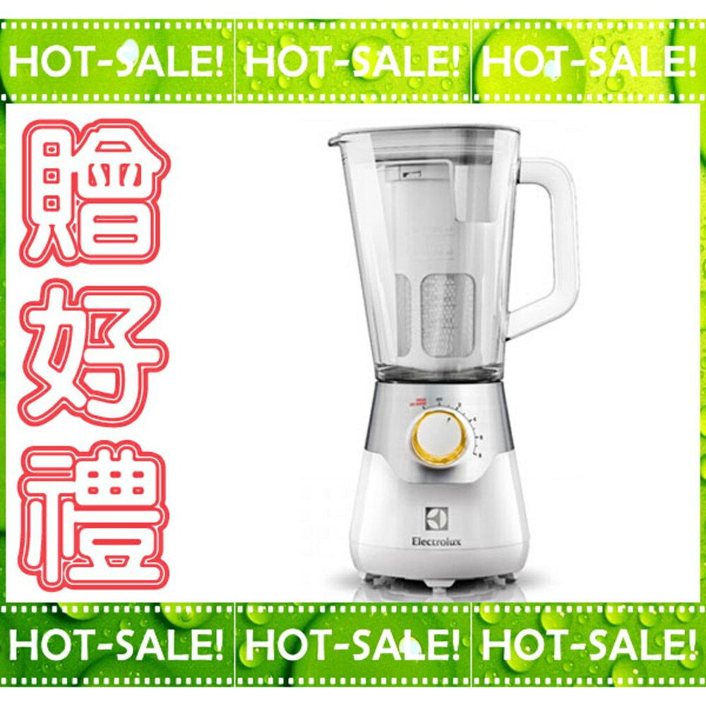 《現貨立即購+贈冰模》Electrolux EBR5604W 伊萊克斯 大馬力+玻璃壺身 冰沙機 / 果汁機