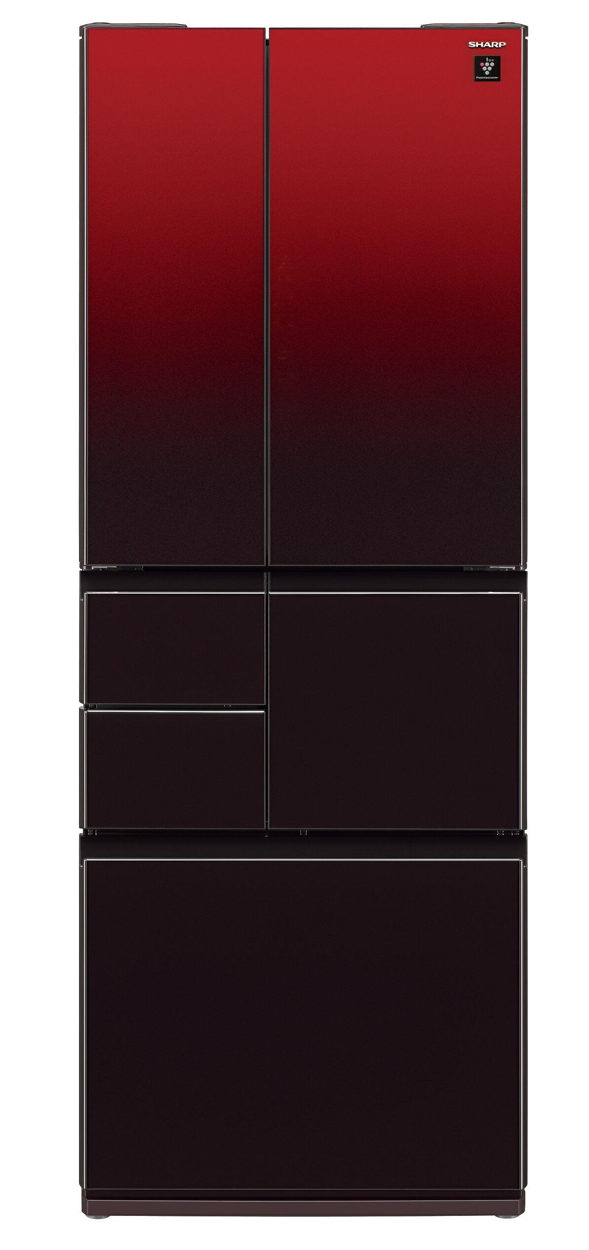 <br/><br/>  SHARP 夏普 SJ-GT50BT-R (星鑽紅) 變頻六門對開冰箱 (501L) ~日本製~【零利率】※熱線07-7428010<br/><br/>