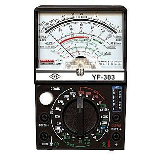 宇峰 Tenmars 新式高功能 多功能電錶 指針式電錶 三用電表 有鋒鳴 YF-303