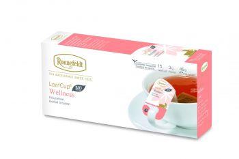 德國 Ronnefeldt 13580 Leaf Cup® Wellness 健康國寶茶 杯茶 耳掛式 國寶茶 花茶