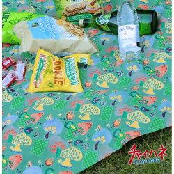 AMINA COLLECTION 日本 民族圖騰萬用巾/桌巾『蘑菇』ISAP5194 可搭配摺收桌 摺疊桌 折合桌 鋁合金輕巧桌