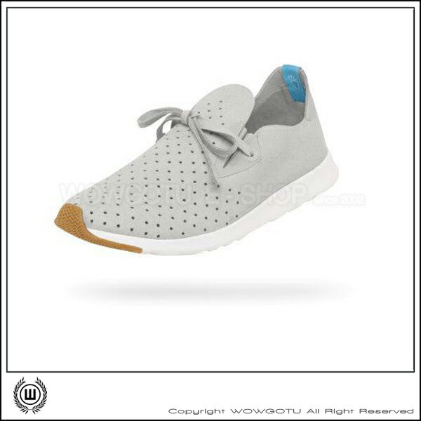 NATIVE  SHOES - APOLLO MOC -PIGEON GREY / SHELL WHITE(1501) 1
