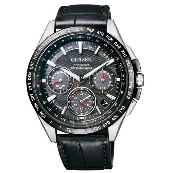 CITIZEN星辰錶CC9015~03E 金城武廣告款鈦金屬GPS衛星對時光動能腕錶  黑