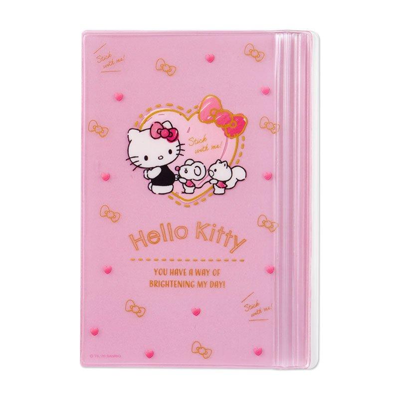 真愛日本 凱蒂貓kitty 朋友 愛心 粉 手帳收納夾 B6 書套 FD84 文件夾 資料夾 票卡夾