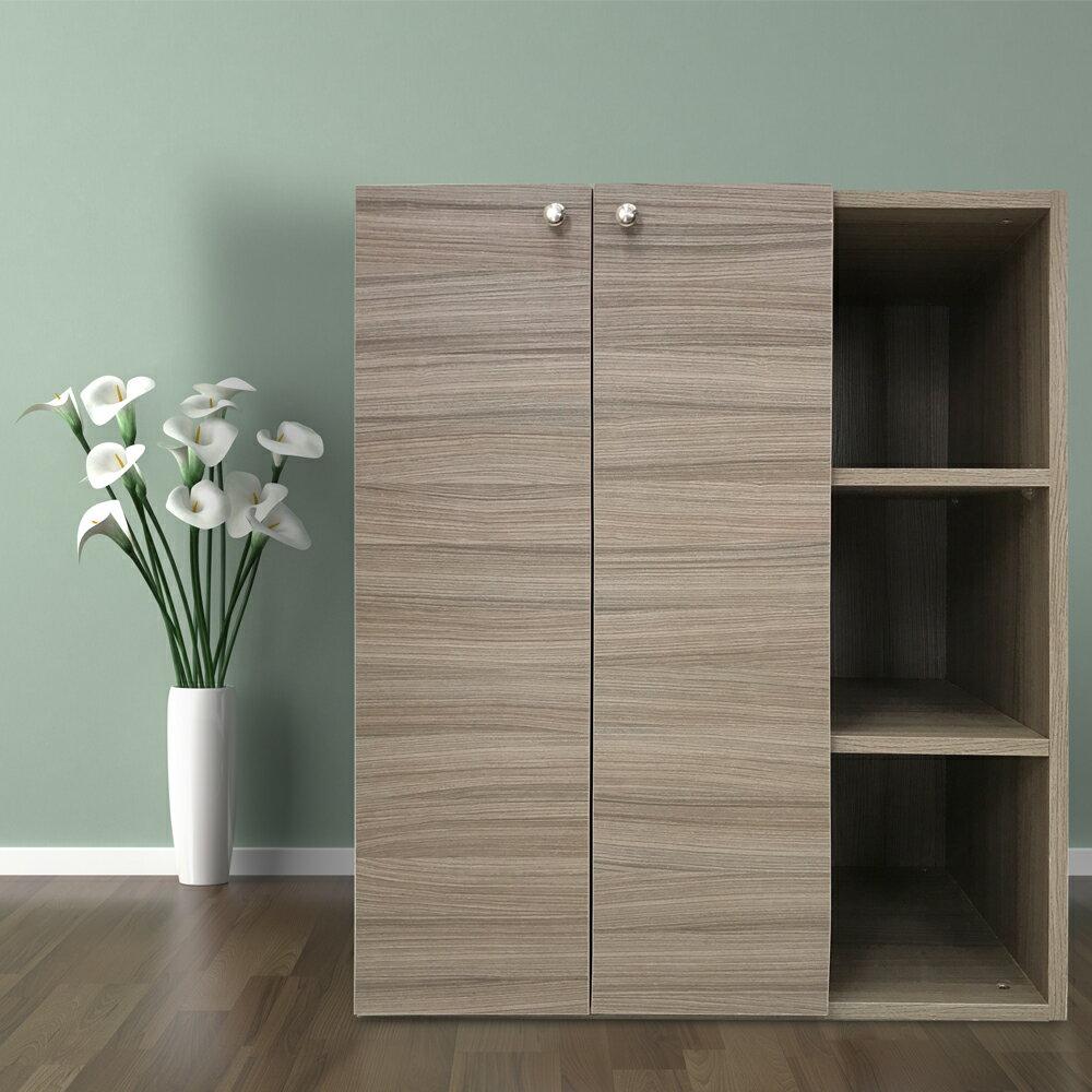 衣櫃 衣櫥 收納櫃|DIY傢俱 漂流木雙門衣櫃收納櫃|MIT台灣製造|木質衣櫃|環保材質〔易宥家居〕