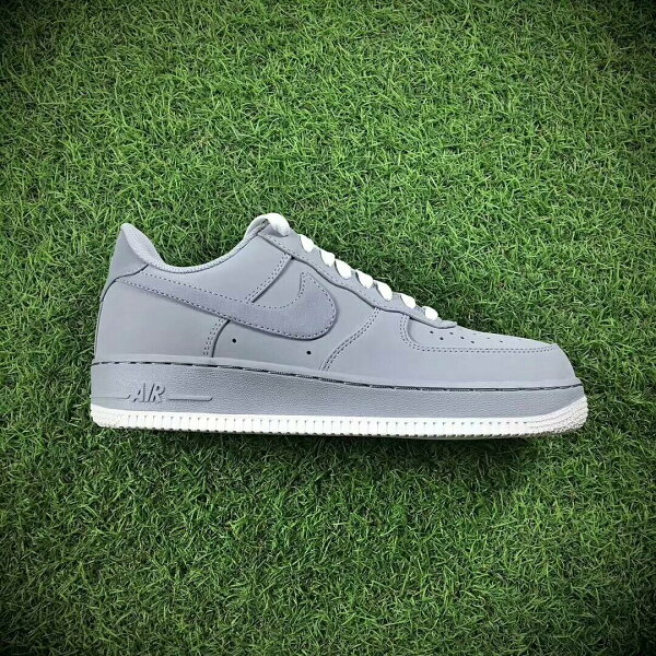NikeAirForce1Low灰色男款