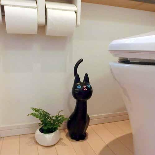 ◎LY愛雅日貨代購◎ 日本代購 黑貓 馬桶清潔刷