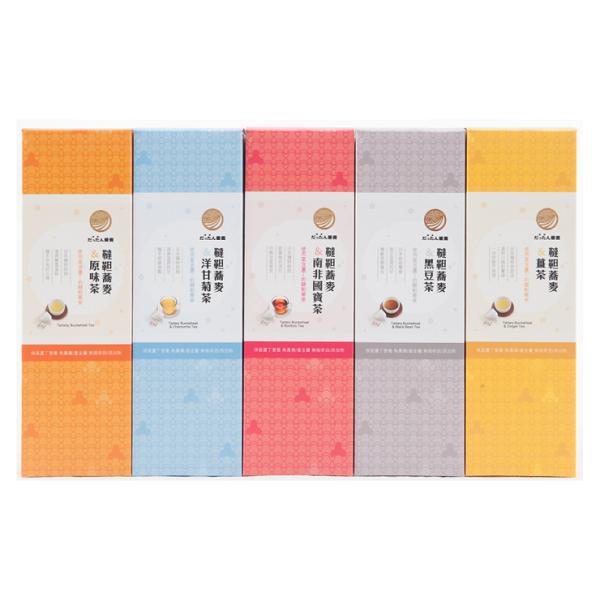 霖沃食集|韃靼蕎麥茶五件超值組(5味任選)若需禮盒請備註禮盒可裝5入