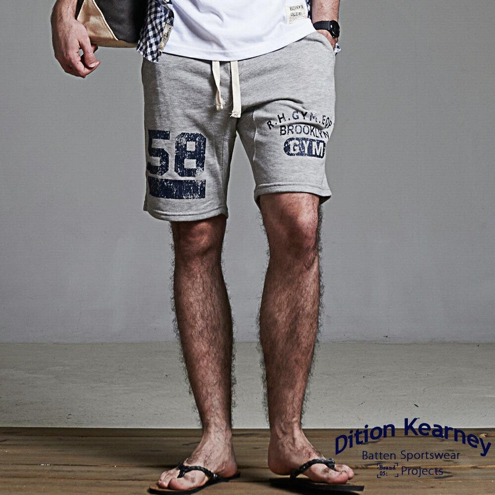 DITION 美式BROOKLYN水洗棉褲 低檔抽繩健身 2