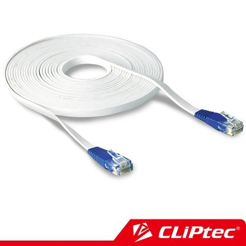 CLiPtec RJ45 超薄扁平網路線 (5M)