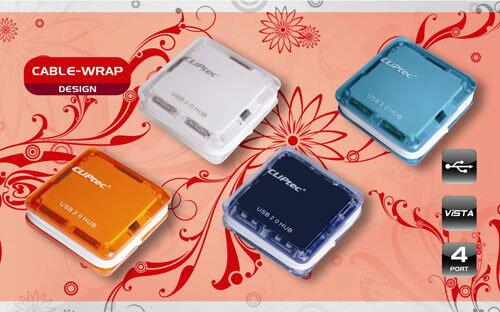 CLiPtec 彩色方塊酥 USB Port Hub集線器