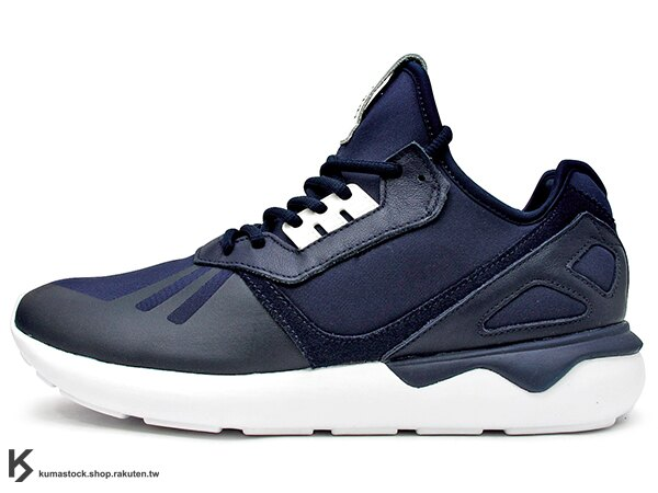 [26cm] kumastock 海外直送 最終入荷 Y-3 QASA 中底 ADIDAS ORIGINALS TUBULAR RUNNER NAVY 深藍 武士 (B41273) !