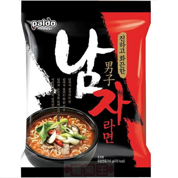 韓國泡麵 Paldo八道 男子拉麵  韓國最辣泡麵TOP3