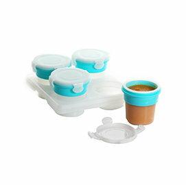 【淘氣寶寶】2angels 台灣設計製造 矽膠副食品儲存杯-120ml (四入)