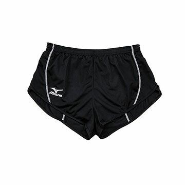 U2TB7C2209(黑)超輕量柔軟高透氣吸汗快乾  RUNNING 女田徑短褲 【美津濃MIZUNO】