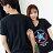 T恤 情侶裝 客製化 MIT台灣製純棉短T 班服◆快速出貨◆獨家配對情侶裝.藍紅圓圈星星【YC229】可單買.艾咪E舖 1