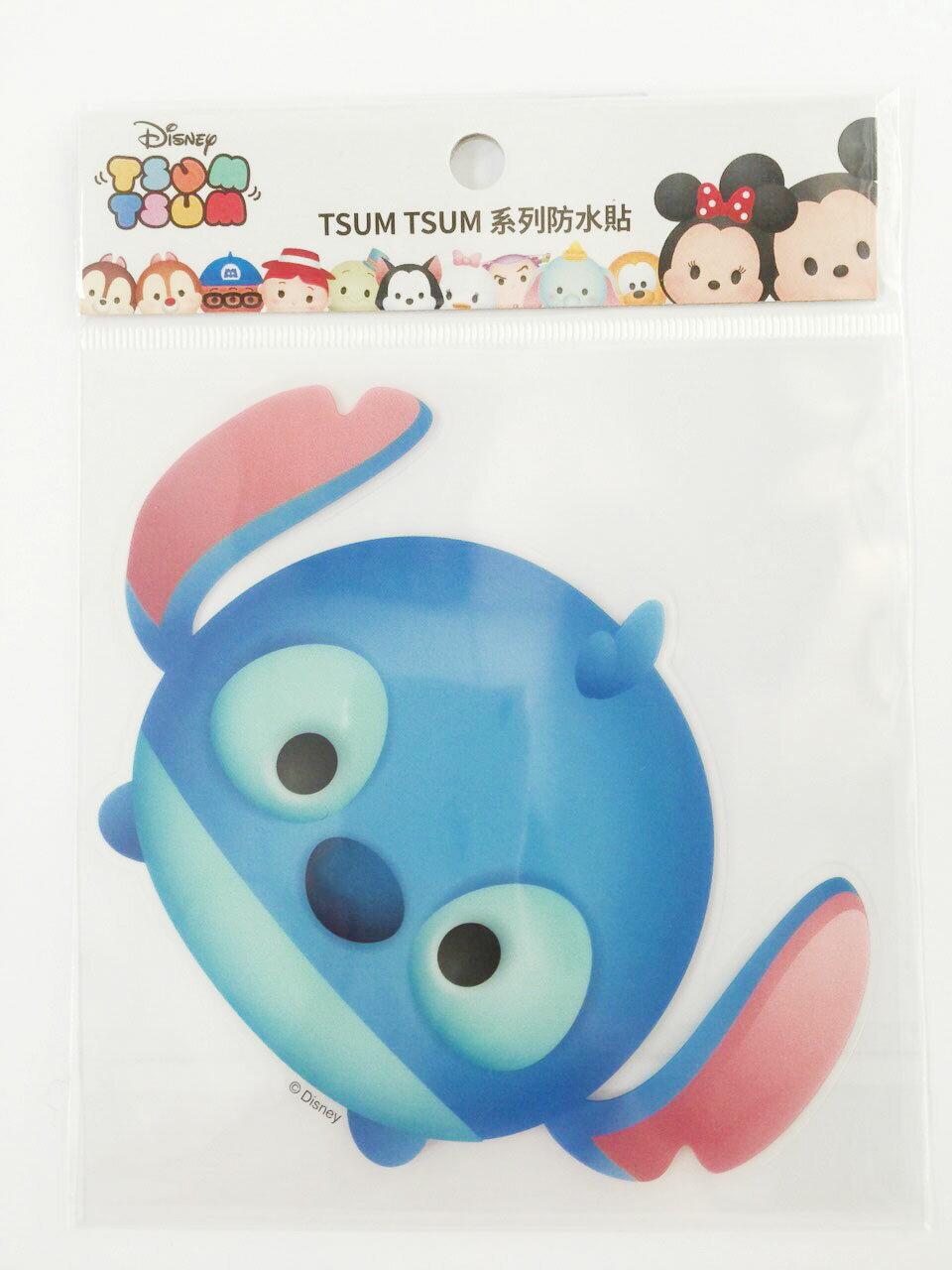 【真愛日本】16011200036  TSUM防水貼紙-史迪奇   史迪奇 星際寶貝 迪士尼 裝飾貼紙 PVC 貼紙
