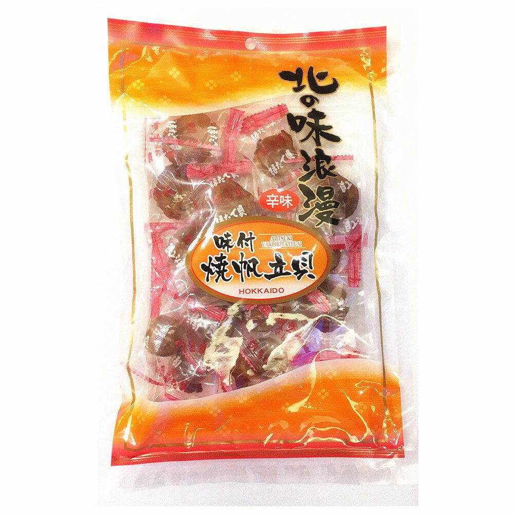 直送新鮮美味 北海道北之味浪漫 付味燒帆立貝~辣味140g