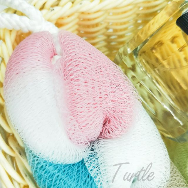 《大信百貨》YB471 愛上泡泡 綑色柔膚沐浴拉背條 沐浴巾 沐浴條 沐浴球