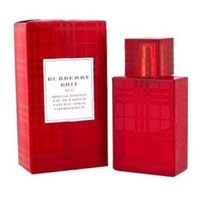 香水1986☆BURBERRY Brit Red 正紅限定版 女性淡香精 50ml